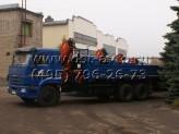 КАМАЗ 65117 c КМУ ATLAS АК 145 CS A2